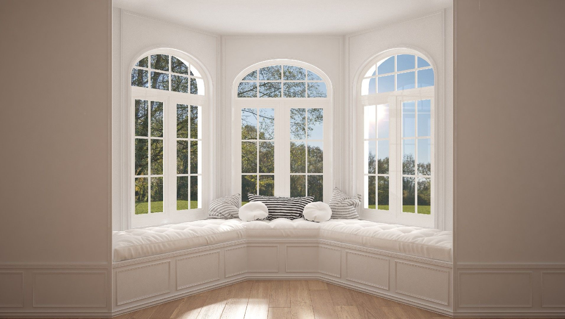 Bay window